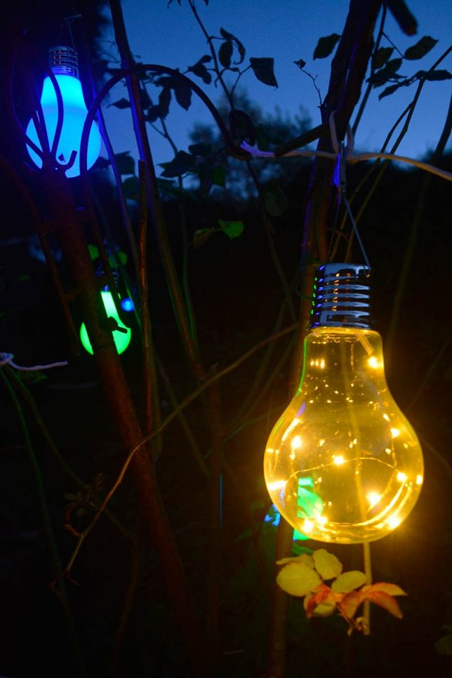 Solar Powered Light Bulbs